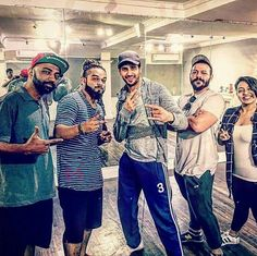 Sidharth rehearsing for #Reload song