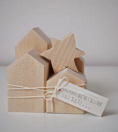Weihnachtsdorf // Holz // wood