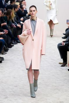 Pastel Pink Fall 2013 Trend - Pastel Pink Coat #pastel #pink #coat  www.loveitsomuch.com