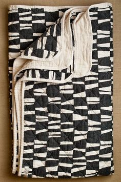 Black white modern quilt                                                                                                                                                                                 More