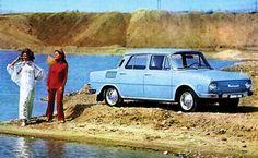Škoda 100/110 vychádzala koncepčne z pôvodnej Škody 1000 MB. A bolo to na nej aj vidieť. Napríklad na použití identických dverí. Bus Engine, Car Pictures, Car Pics, Automotive Decor, Tudor, Budapest, Most Beautiful Pictures, In The Heights, Automobile