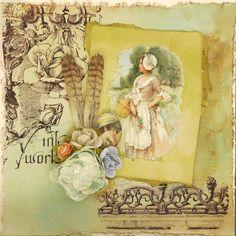Stempelset Hintergrund Colagen « LaBlanche