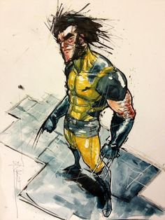 Wolverine by Riley Rossmo