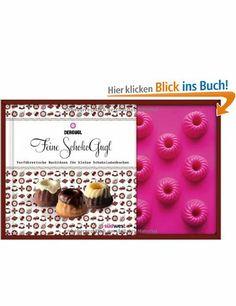 Feine SchokoGugl-Set: Verführerische Backideen für kleine Schokoladenkuchen. Buch mit Backform für 18 Gugl: Amazon.de: Chalwa Heigl: Bücher