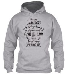 Men's Gift Super Cool Son-In-Law T-shir