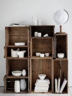 this would look good as a book case or in a bathroom