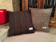 Authentic Harris Tweed Cushion Cover  Multiple Tweeds