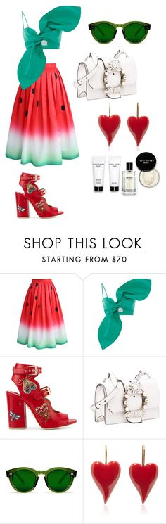 """""""watermelon"""" by myshea-butler on Polyvore featuring Chicwish, Laurence Dacade, Miu Miu and Bobbi Brown Cosmetics"""