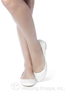 Dessy Wedding Shoes Sparkle Ballet Flat / BAL3-SPRK