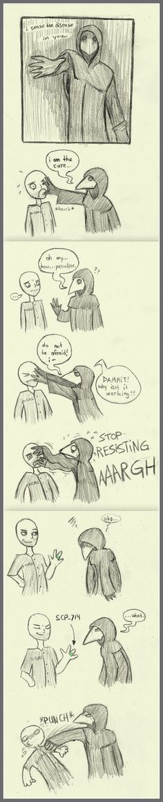 How to make SCP 049 angry by Danwolfefersrs.deviantart.com on @DeviantArt