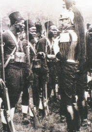 """colonial Gold Coast Armed Police - """"Hausa Constabulary"""""""