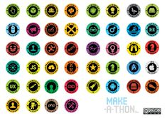 IDEO Make-a-thon buttons template