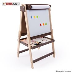 tectake maltafel standtafel kindertafel mit ablagefl che. Black Bedroom Furniture Sets. Home Design Ideas