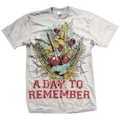 A Day To Remember: Have Faith In Me T-Shirt.  Neeeeed this!