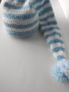 gorro bebe duende gnomo extra largo 0 a 9 meses lana acrílica e4acdeef9a1