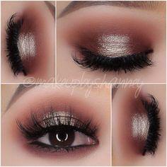 Gorgeous Makeup: Tips and Tricks With Eye Makeup and Eyeshadow – Makeup Design Ideas Eye Makeup Red Dress, Prom Eye Makeup, Eye Makeup Cut Crease, Homecoming Makeup, Glitter Eye Makeup, Blue Eye Makeup, Eye Makeup Tips, Makeup For Brown Eyes, Wedding Makeup