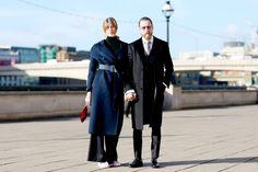 Street Style en London Fashion Week, febrero 2015 © Jessie Bush