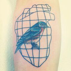Tatuagem - Bukowski - Bluebird
