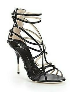I wish these were mine. Fancy Shoes, Pretty Shoes, High Heels, Shoes Heels, Walking Tall, Minimalist Fashion, Gladiator Sandals, Designer Shoes, Black Shoes
