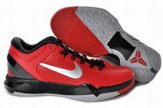 c5c3b5e4ab0c New Kobe Shoes Kobe 7 Elite Sport Red Metallic Silver Black