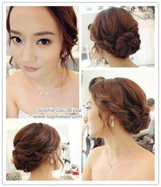 wedding hair asian - Google Search