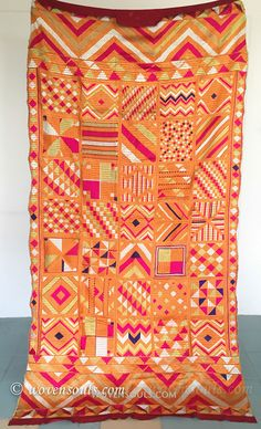 Art that soothes the Soul 835 Rare Bawan Bagh Phulkari Textile Textile Fabrics, Textile Art, Phulkari Embroidery, Embroidery Suits, Indian Textiles, Antique Art, Indian Art, Decoration, Fiber Art