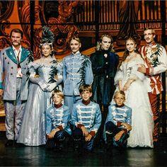 #Elisabeth Cast '92 w/ Wolfgang Pampel / Christa Wettstein / Andi Bieber / Uwe Kröger/ Pia Douwes / Viktor Gernot #viennanow #wearemusical