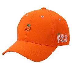395f386d214 Fresh Fruit Baseball Cap. Embroidered CapsMen SummerSummer ...