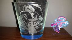 Rainbow Dash engraved glass by angel99percent.deviantart.com on @DeviantArt