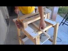 Drum sander / Thickness Sander / lixadeira - YouTube