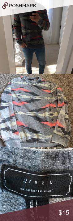 Aztec patter crew neck sweatshirt Forever 21 Aztec patter crew neck sweatshirt Forever 21 Shirts Sweatshirts & Hoodies