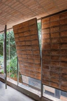 sergio fanego y solano benitez Architecture Durable, Detail Architecture, Tropical Architecture, Brick Architecture, Sustainable Architecture, Brick Design, Facade Design, Door Design, House Design