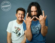 Bill & Ted caused the Civil War? Keanu Reeves, Alex Winter, and the writers recall alternate endings and more