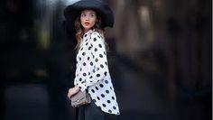 polka dots and big hats
