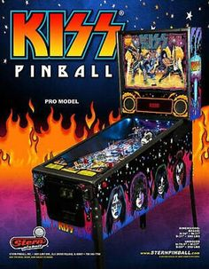 Hard Rock Music, Rock N Roll Music, Rock And Roll, Kiss Merchandise, Stern Pinball, Pinball Wizard, Kiss Band, Sale Flyer, Classic Toys