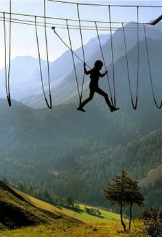Sky Walking The Alps, Switzerland