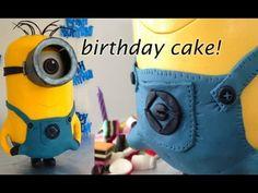 Despicable Me 2 3D Minion Cake Tutorial