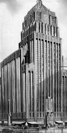 The 9th and Broadway Building – completed 1929:
