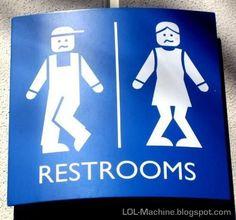 Funny Restroom Sign!