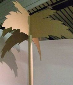 Rachel Scanlon - cardboard palm tree