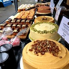 Brett & Bailey is a new bakery business in south London. Find our delicious sweet baking at local market stalls, or made to order, just for you Easter In London, Bakery Business, Market Stalls, Farmers Market, Baked Goods, Just For You, Cheese, Baking, Ethnic Recipes