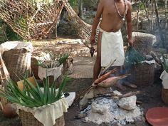 En el Kíi'Wik - mercado maya - pescado asado Travesía Sagrada Maya 2013 Journey, Cozumel, Pilgrimage, Canoe, Worship, Maya, The Journey, Maya Civilization