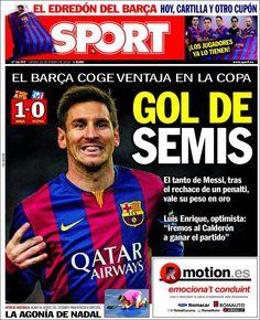 Portada Sport 22/1/2015