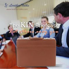 The KIN briefcase, is made of high quality, ultra-light leather. Its very spacious and sturdy - Check it out online at http://leathertalks.com/product/kin-briefcase/