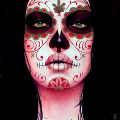 Halloween Face Painting | Anything painted on your face that looks remotely like the amazing ...