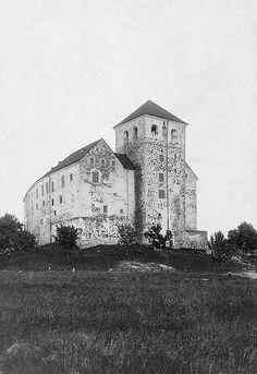 Turku Castle (Turun linna), Finland, founded in the 1280s. Åbo slott, grundat på 1280-talet. Location: Turku, Finland Photograph by: Unknown Date: c. 1890.   Turku Castle, Finland | by Swedish National Heritage Board
