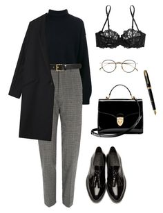 """Untitled #65"" by jestniemabylo ❤ liked on Polyvore featuring Rejina Pyo, Burberry, Tory Burch, La Perla, Aspinal of London, Parker, Gérard Darel and Derek Lam"