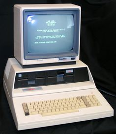 My first computer, an Apple ][ clone called a Franklin ACE 1200.