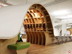 Superdesk by Clive Wilkinson Architects.  #Design #Desk