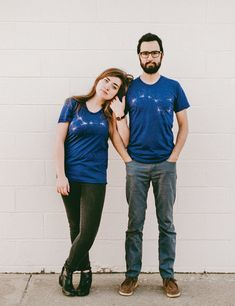 These Big Dipper/Little Dipper couples t-shirts because Big Spoon/Little Spoon is so overrated. | 33 Gifts For Anyone Who F*cking Loves Science
